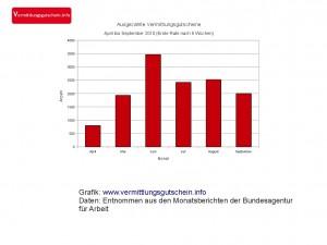 Statistik Vermittlungsgutscheine II-2010
