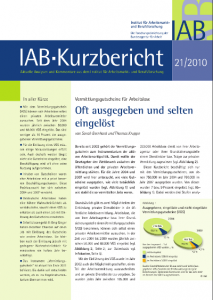 Studie Vermittlungsgutschein des IAB